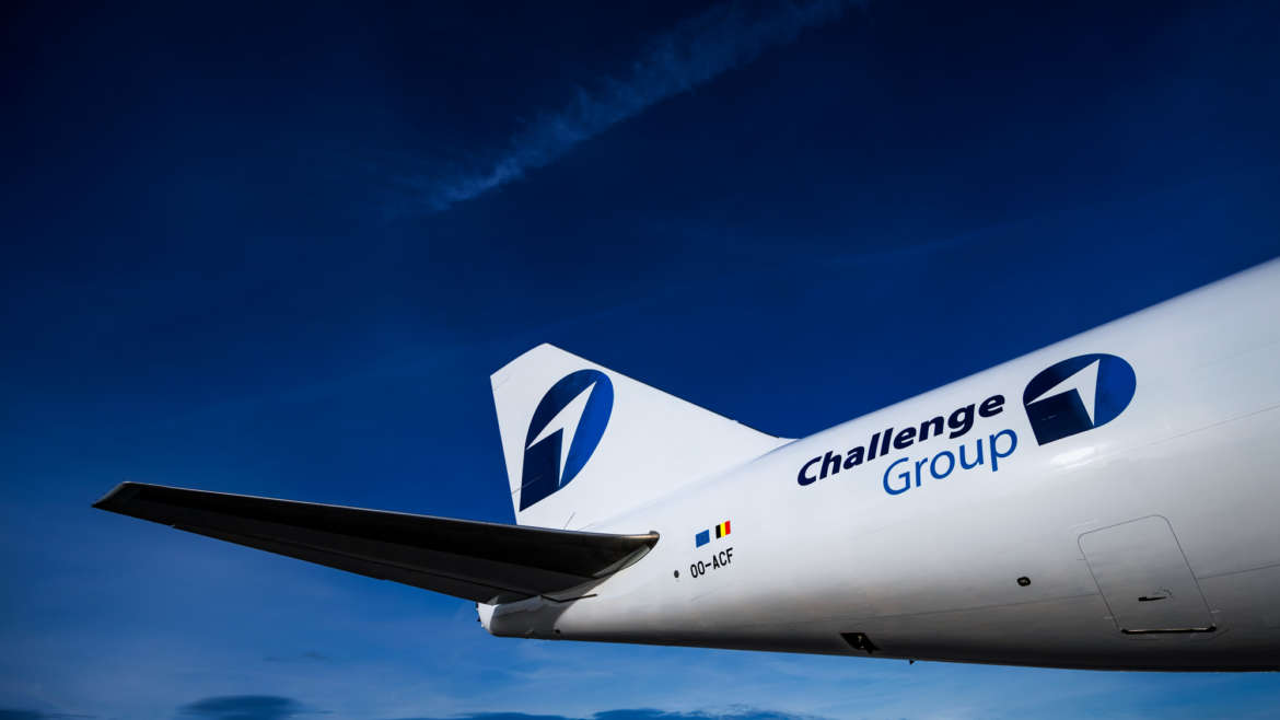 New Challenge Airlines color scheme